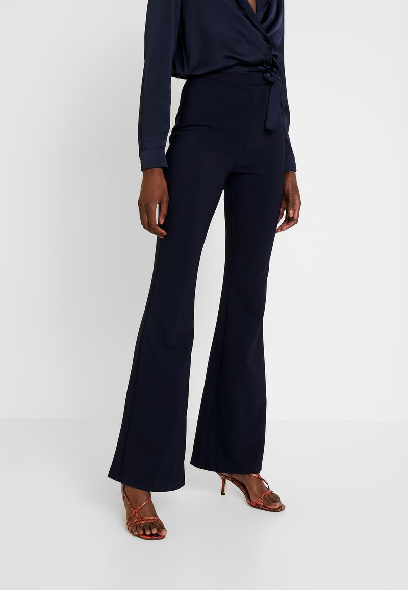 Trendyol - LACIVERT - Trousers - navy