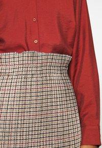 Trendyol - RENKLI - Spódnica ołówkowa  - beige - 4