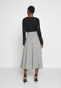 Trendyol - A-line skirt - gray - 2