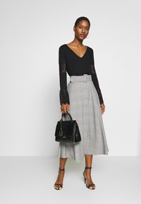 Trendyol - A-line skirt - gray - 1