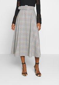 Trendyol - A-line skirt - gray - 0