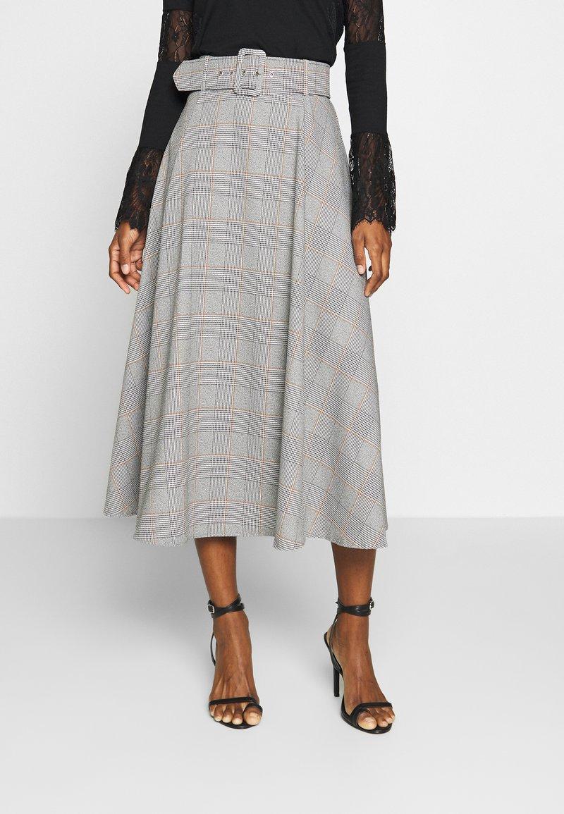 Trendyol - A-line skirt - gray
