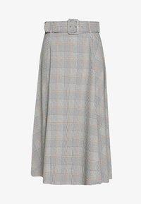 Trendyol - A-line skirt - gray - 3
