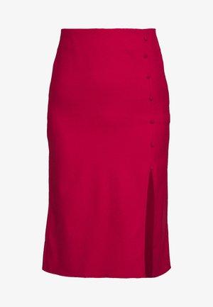 BORDO - Pencil skirt - burgundy
