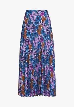 ÇOK RENKLI - Plisovaná sukně - multicolor