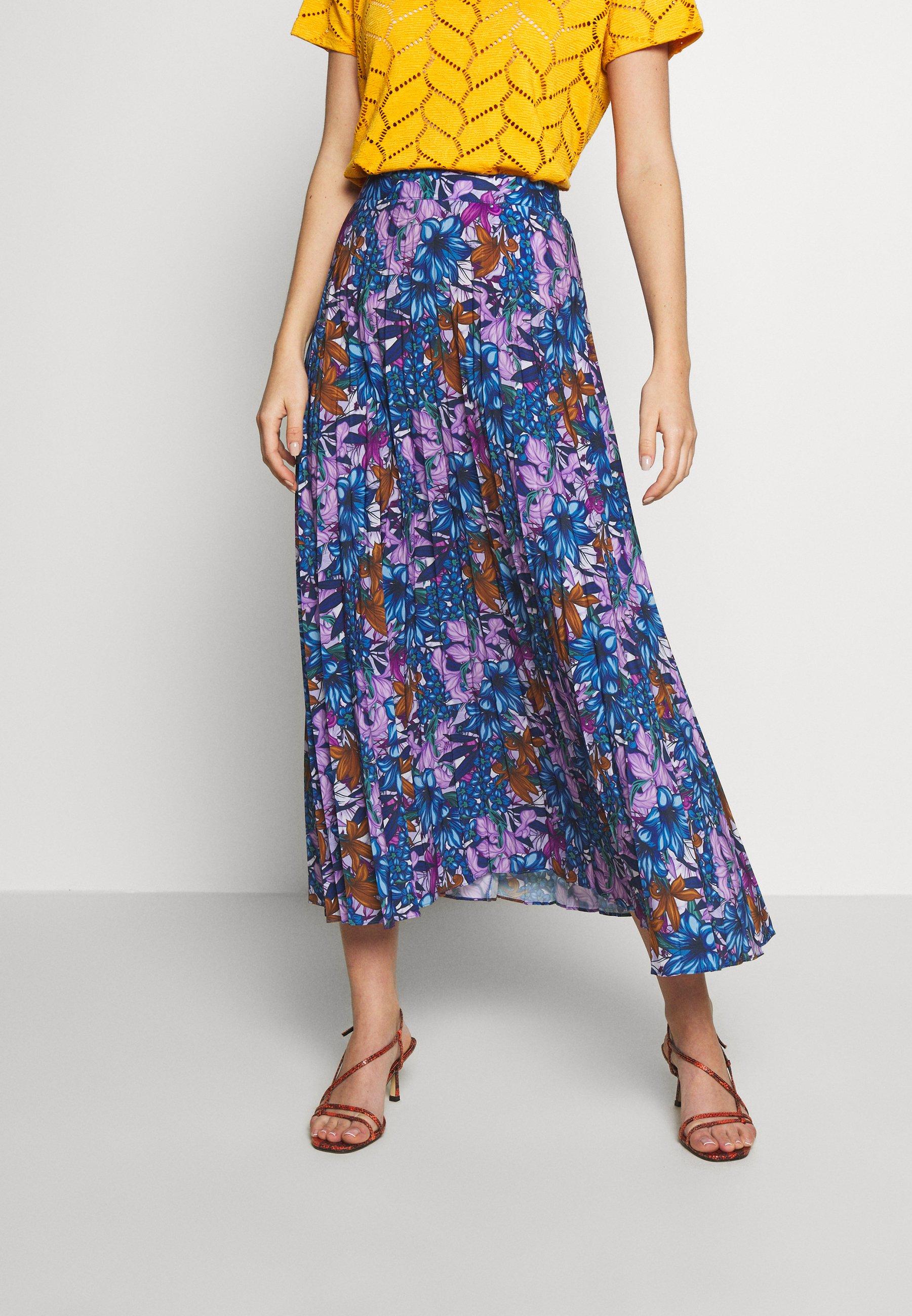 Trendyol Çok Renkli - Plooirok Multicolor