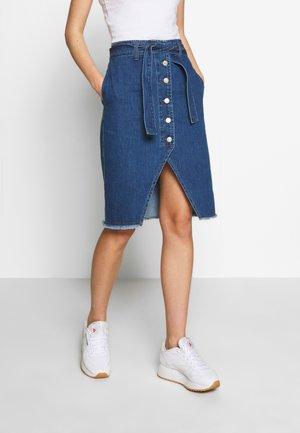 MAVI - Falda de tubo - blue
