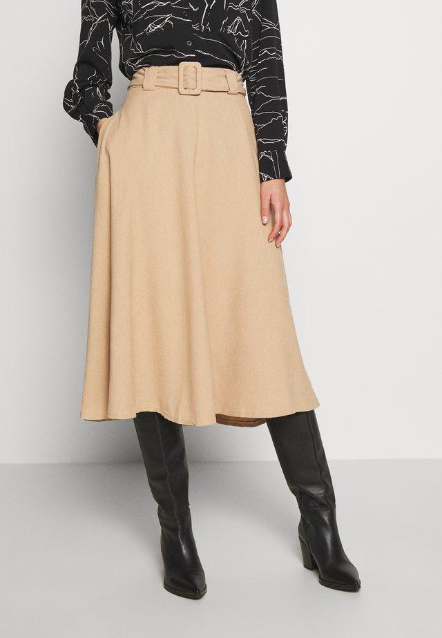 A-line skirt - mink