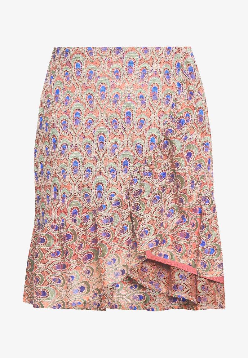 Trendyol - A-line skirt - fuchsia