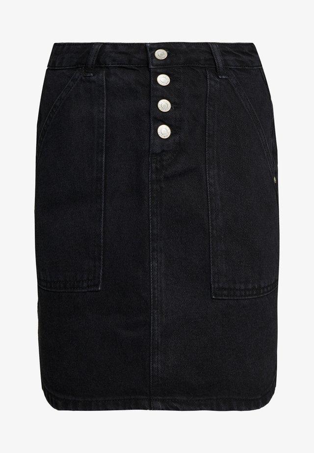 MAVI - Denim skirt - black
