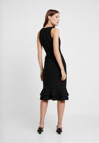 Trendyol - Fodralklänning - black - 3