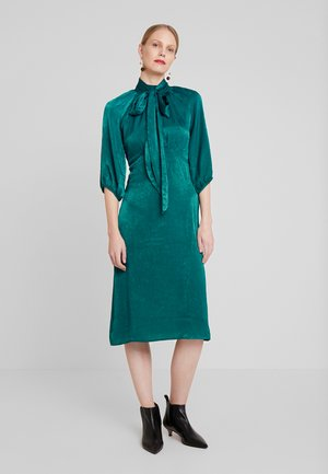 Korte jurk - emerald green