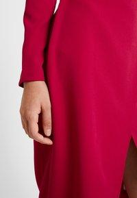 Trendyol - Denní šaty - burgundy - 5
