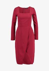 Trendyol - Denní šaty - burgundy - 4