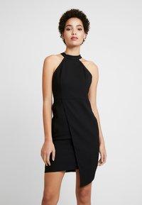 Trendyol - SIYAH - Pouzdrové šaty - black - 0