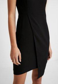 Trendyol - SIYAH - Pouzdrové šaty - black - 6