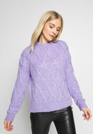 Pullover - lila