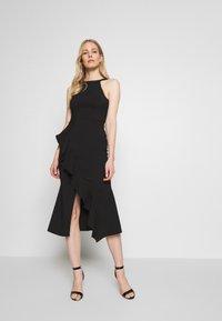 Trendyol - Shift dress - black - 0