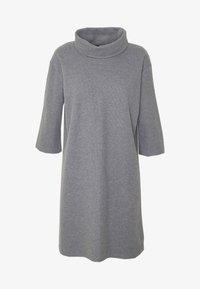 Trendyol - SIYAH - Gebreide jurk - gray - 5