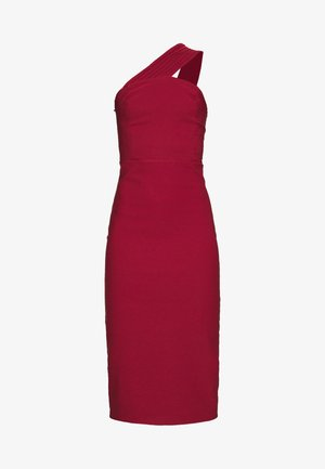 Cocktailjurk - burgundy