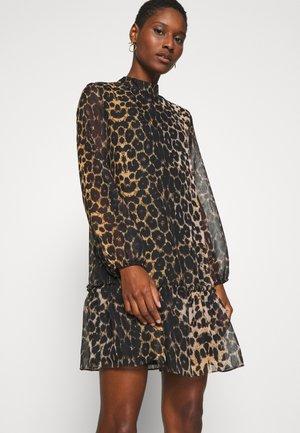 TWOAW - Korte jurk - brown