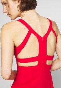 Trendyol - KIRMIZI - Shift dress - red - 4