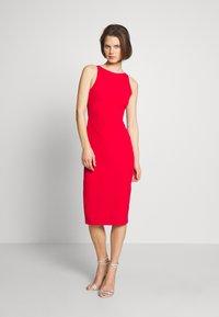 Trendyol - KIRMIZI - Shift dress - red - 1