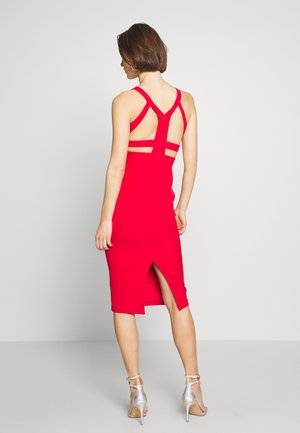 KIRMIZI - Shift dress - red