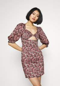 Trendyol - RENKLI - Pouzdrové šaty - multi color - 0