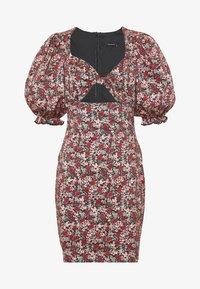 Trendyol - RENKLI - Pouzdrové šaty - multi color - 5