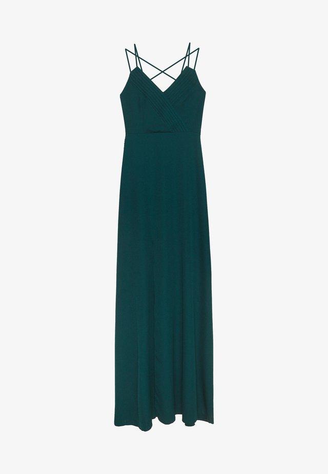 Juhlamekko - emerald green