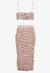 Trendyol - PUDRA - Vestido informal - powder pink - 1