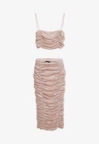 Trendyol - PUDRA - Vestido informal - powder pink - 0