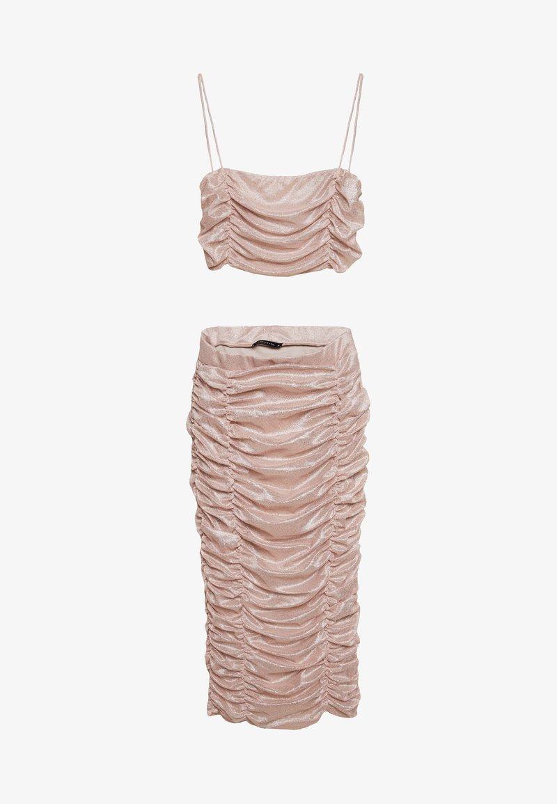 Trendyol - PUDRA - Denní šaty - powder pink