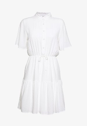 Sukienka koszulowa - ecru