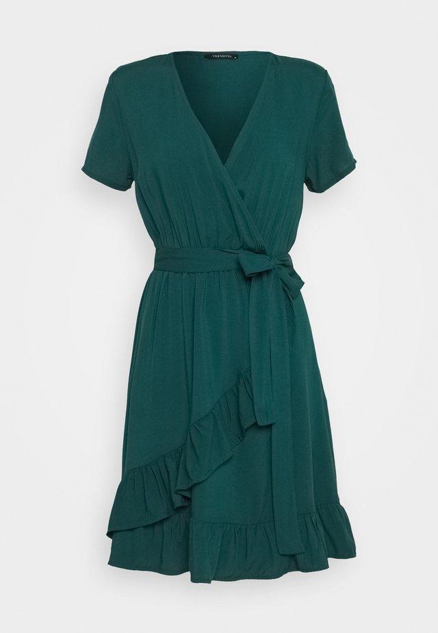 Vapaa-ajan mekko - emerald green
