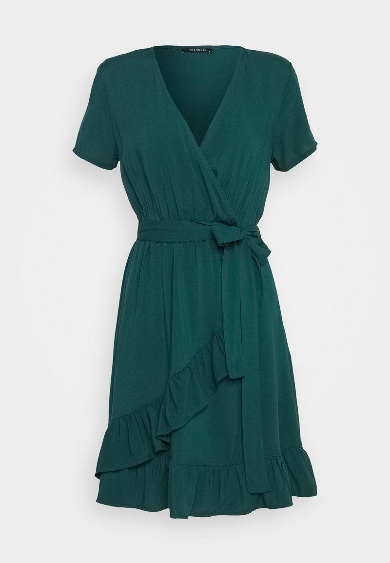 Trendyol - Vapaa-ajan mekko - emerald green