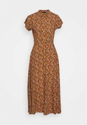 Shirt dress - multi color