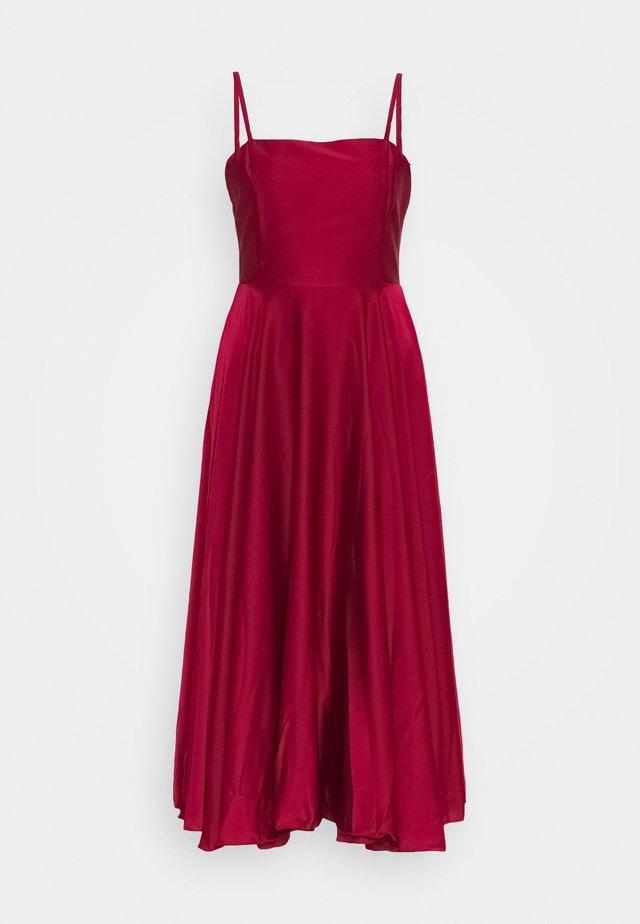 Cocktailklänning - burgundy