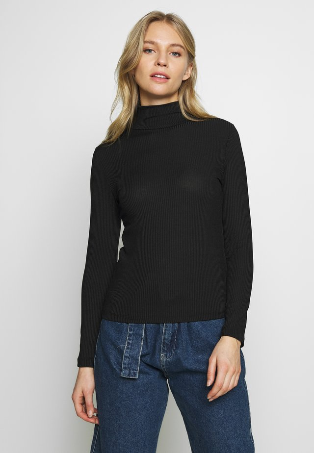 SIYAH - Long sleeved top - black