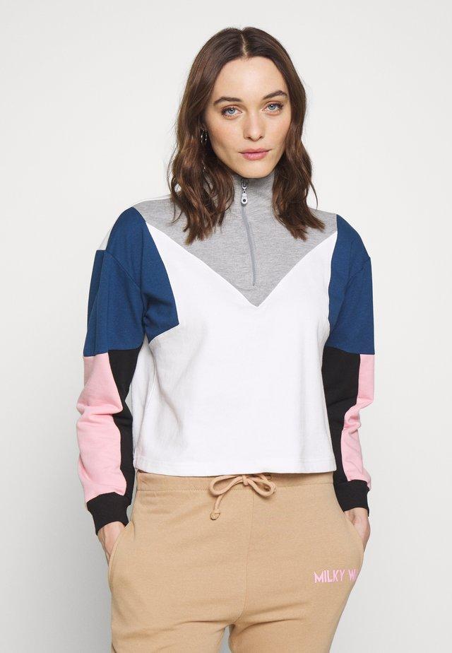 Sweatshirt - multi color