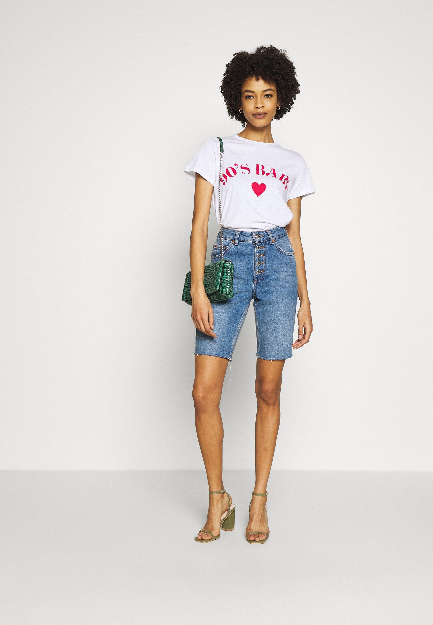 Trendyol T-shirt con stampa - ecru sYN87ayd