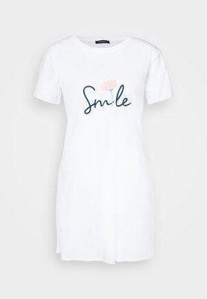 BEYAZ - T-shirt imprimé - white