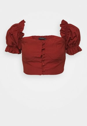 KIREMIT - Blouse - brick