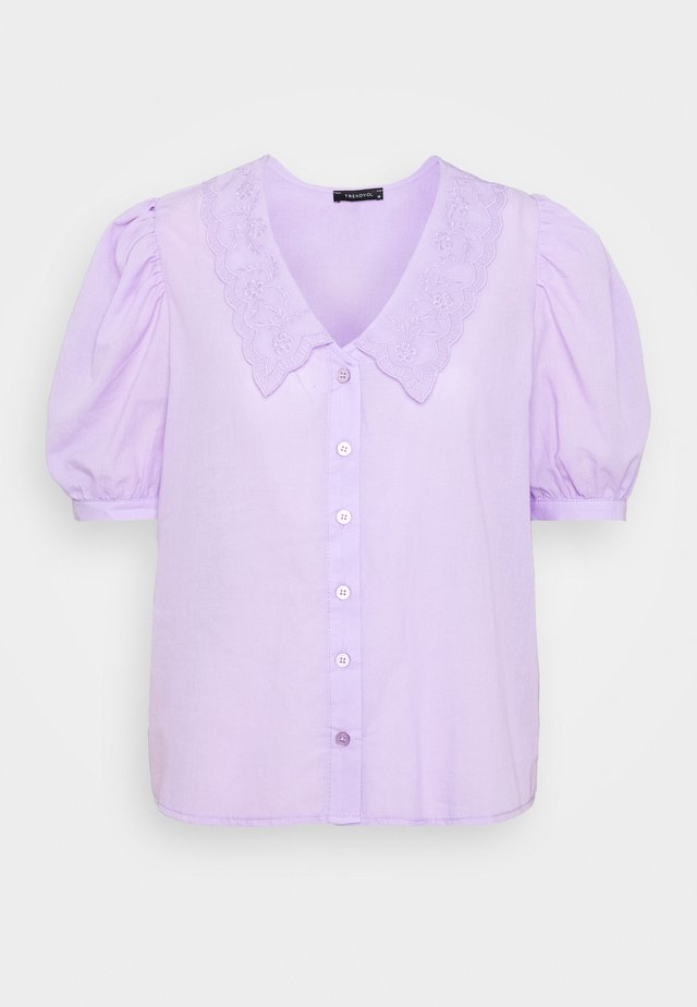 TWOSS - Button-down blouse - lila
