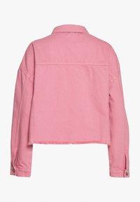 Trendyol - Denim jacket - pink - 1