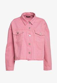 Trendyol - Denim jacket - pink - 0