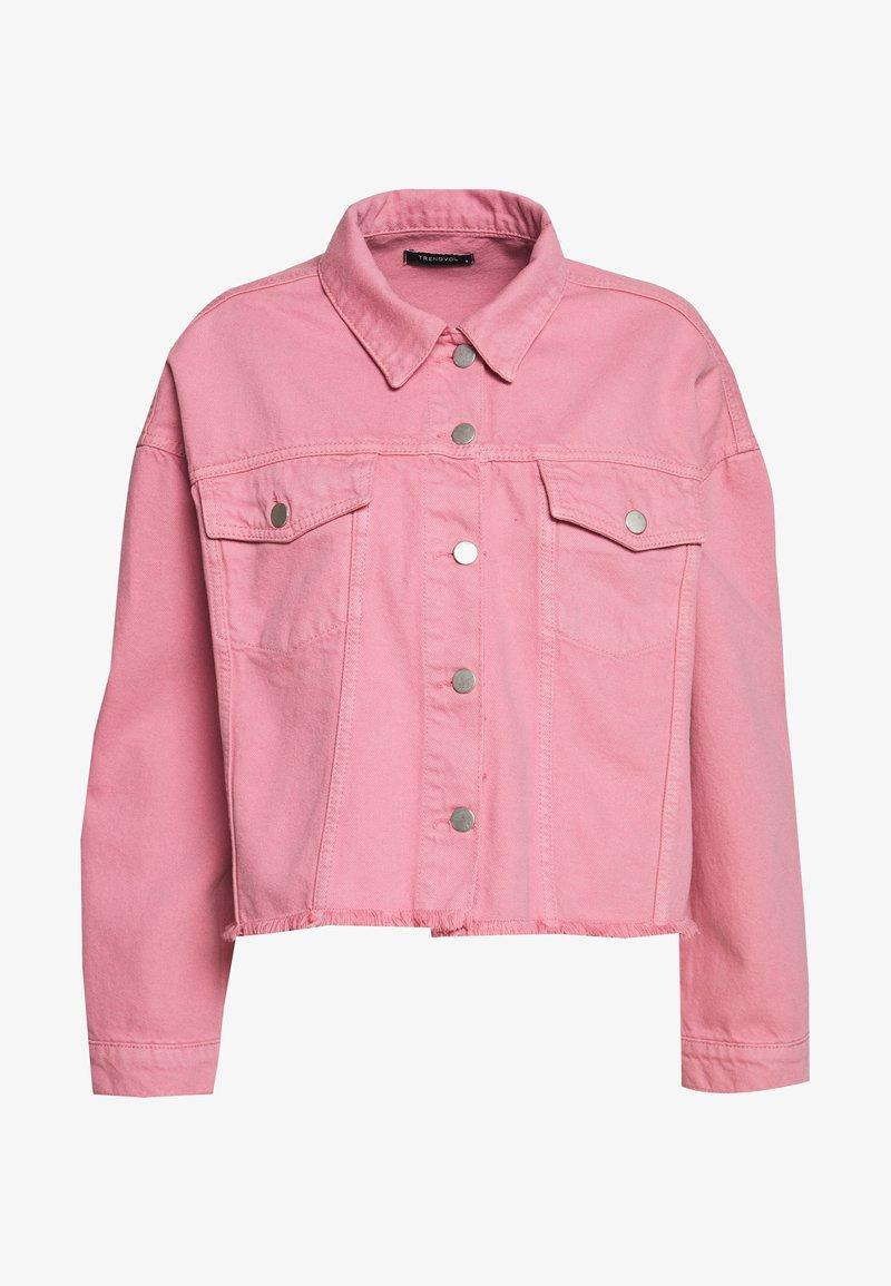 Trendyol - Denim jacket - pink