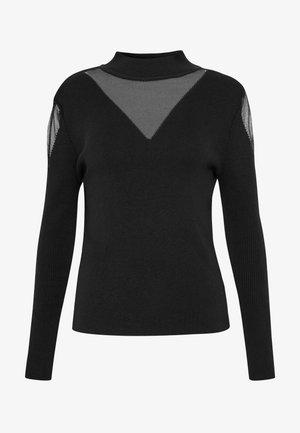 SIYAH - Stickad tröja - black