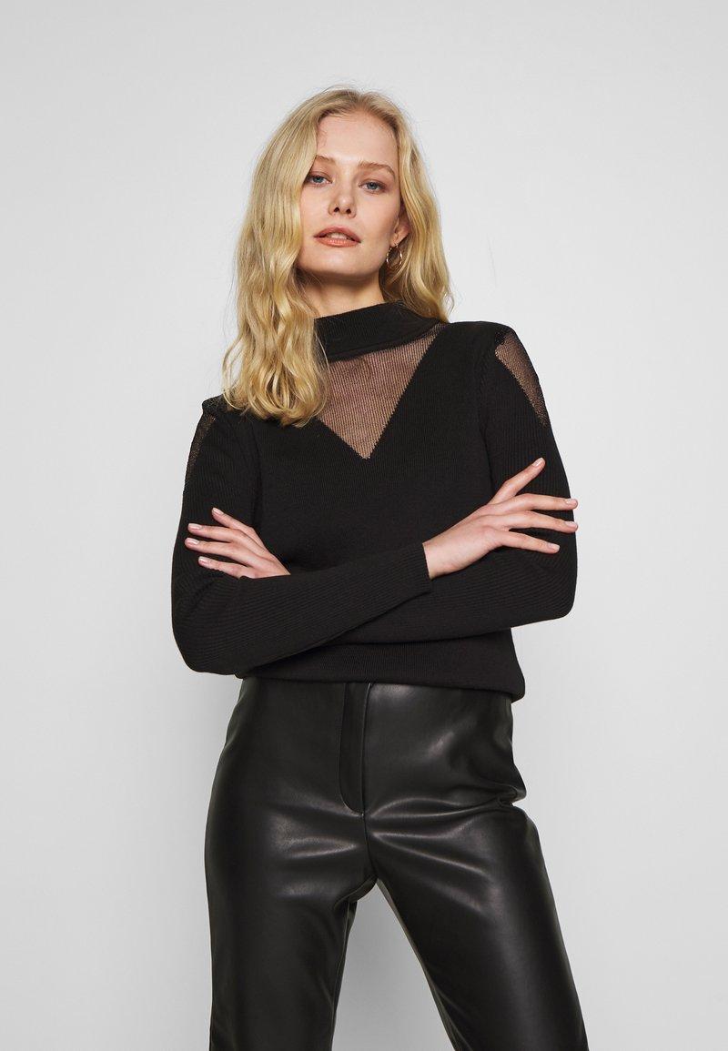 Trendyol - SIYAH - Pullover - black